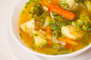 Bowl of Vegetable Soup © Can Stock Photo / gongzstudio